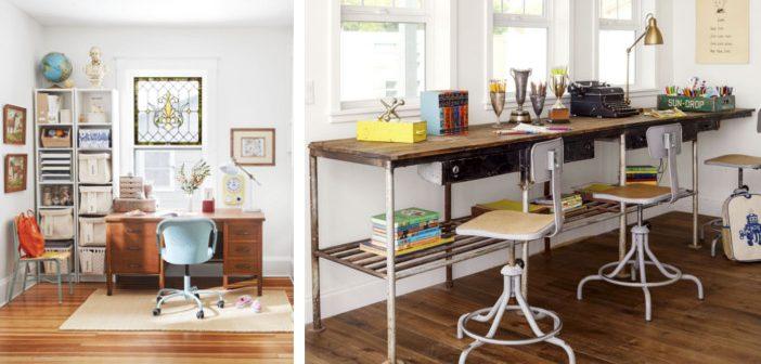 5 Sfaturi pentru amenajarea biroului de teme pentru copii