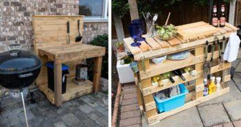 10 Idei simple de a construi o zonă de gătit cu grătar la tine in curte