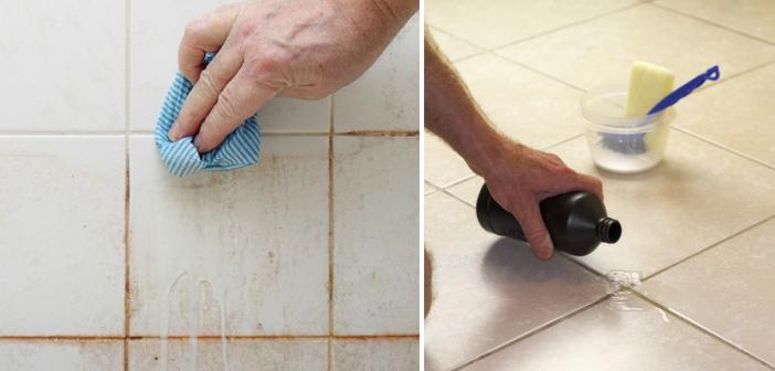 Cele mai puternice 7 soluții naturale de curățare a gresiei și faianței